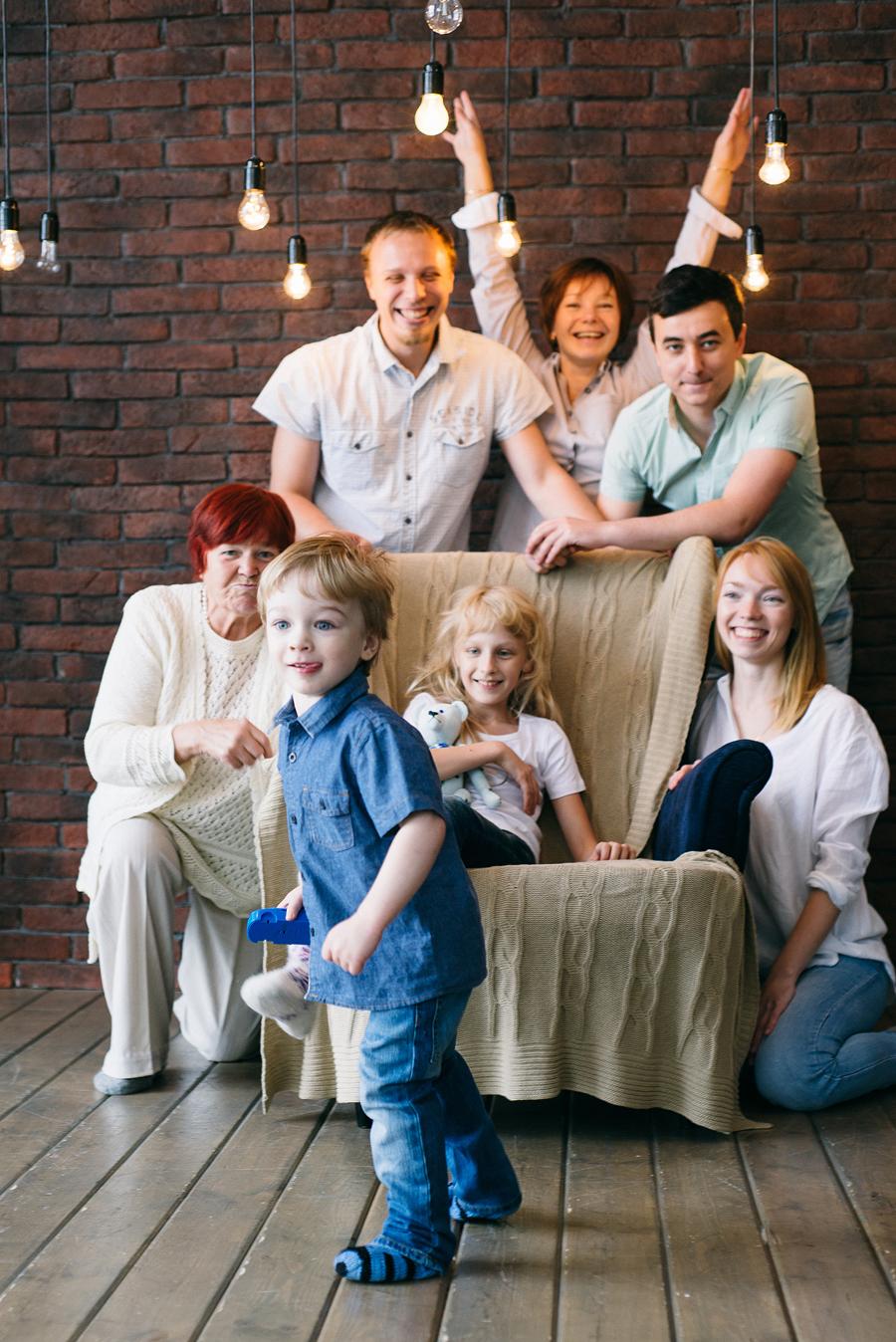 идеи для семейной фотосъемки