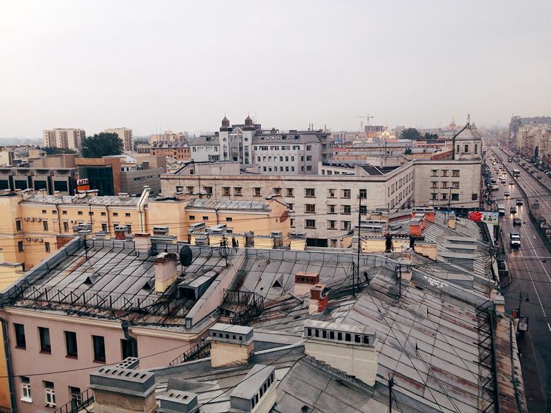 крыши питера
