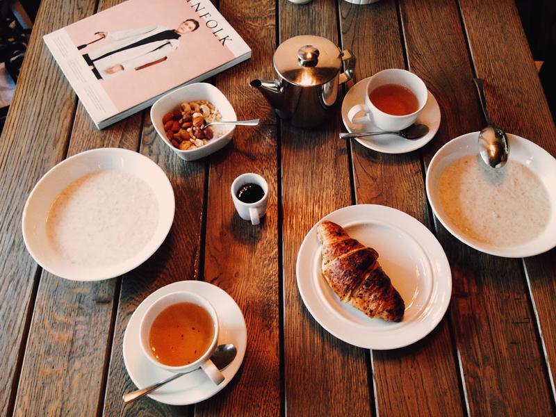 завтрак в грейс бистро