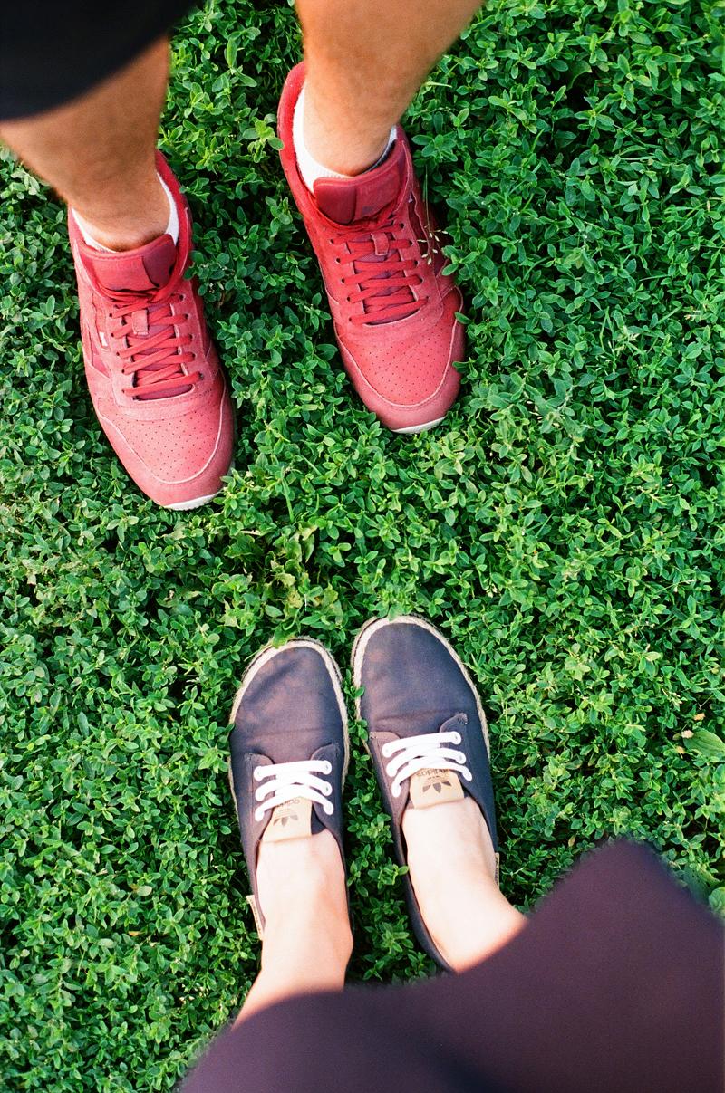 кроссовки reebok adidas