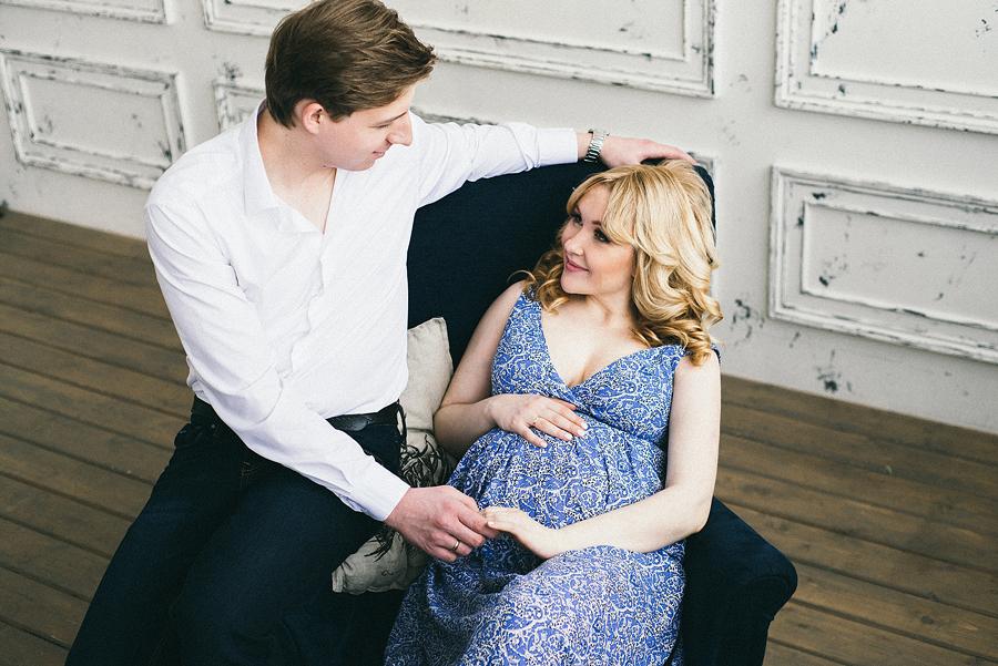 как фотографироваться беремненным