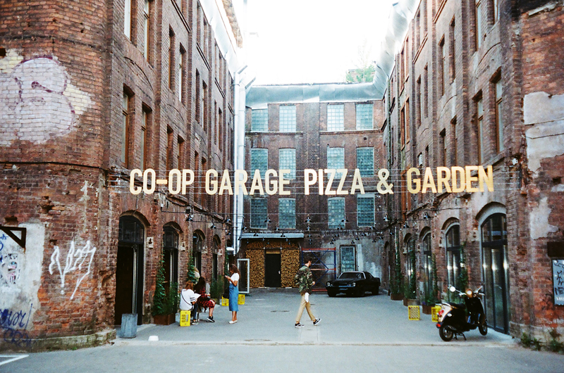 co-op garage