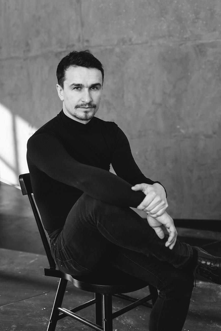 мужской чб портрет пермь