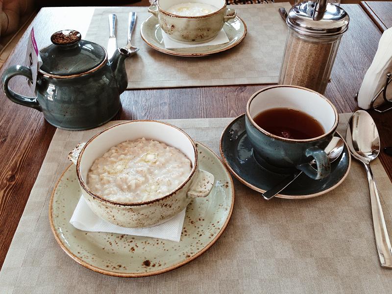 завтрак в перми