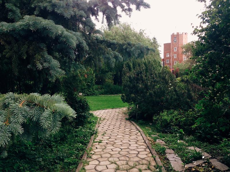 ботанический сад пермь