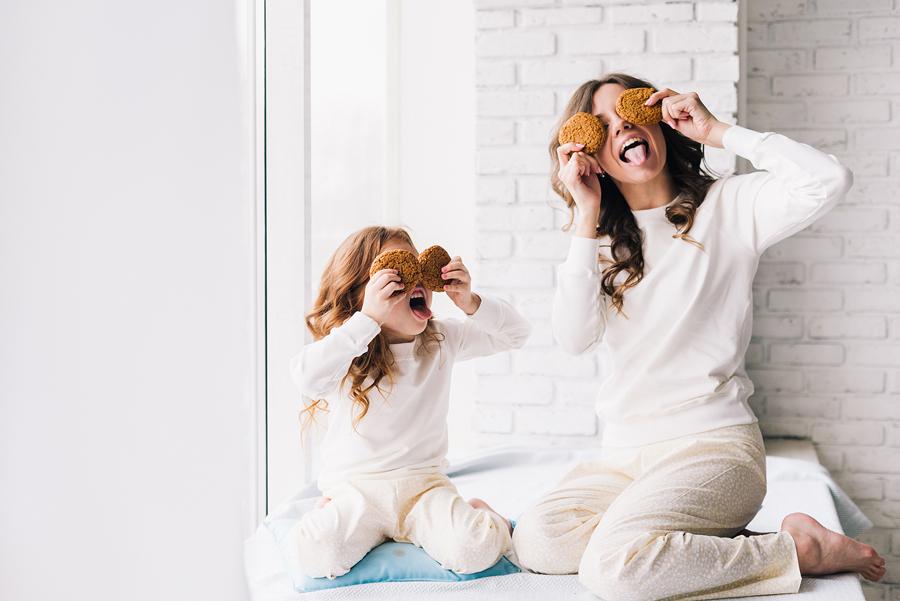 фотосессия мамы и дочки