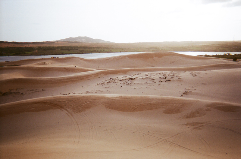 белые дюны