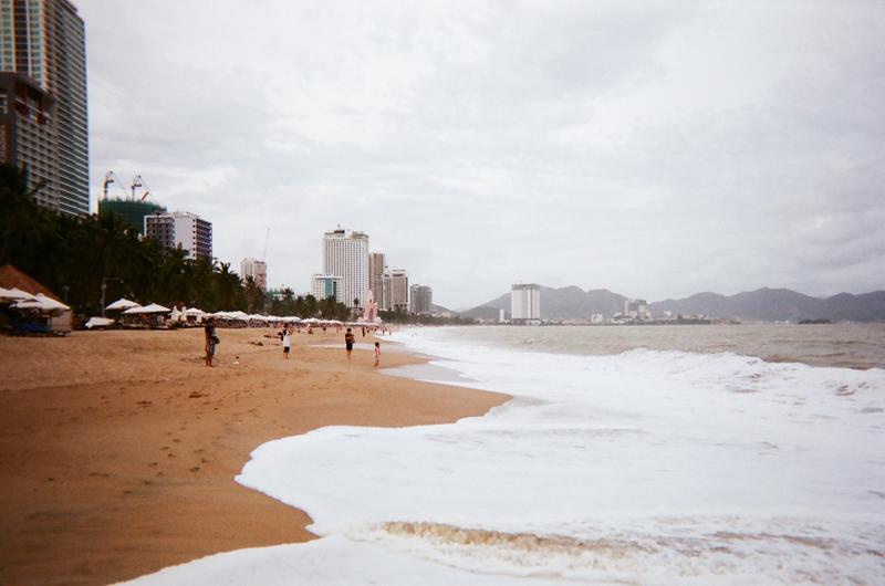 Пляж Нячанга в декабре