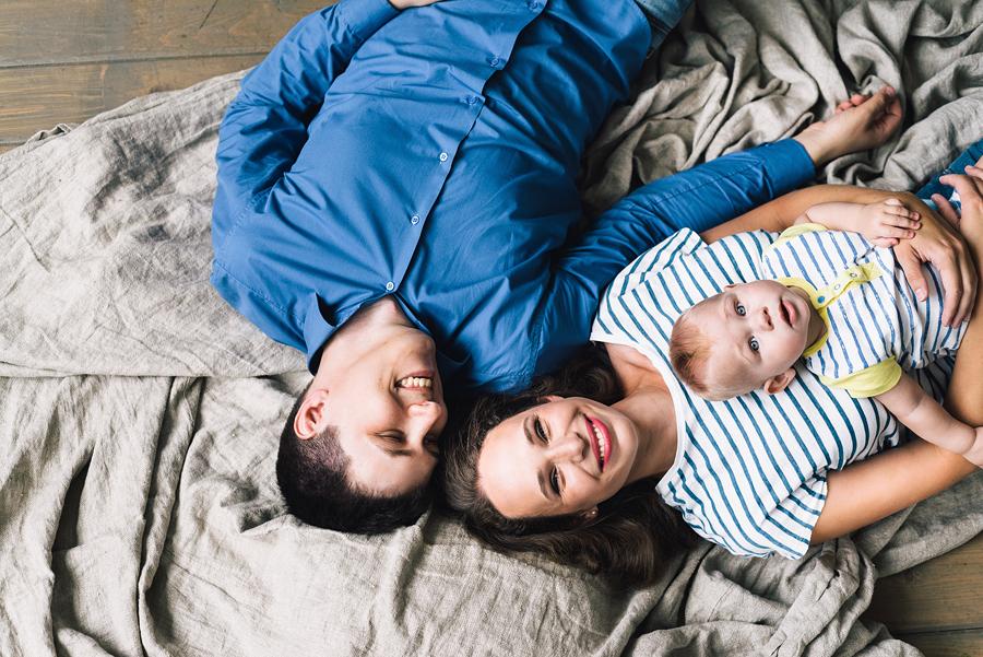 идея для семейной фотосессии