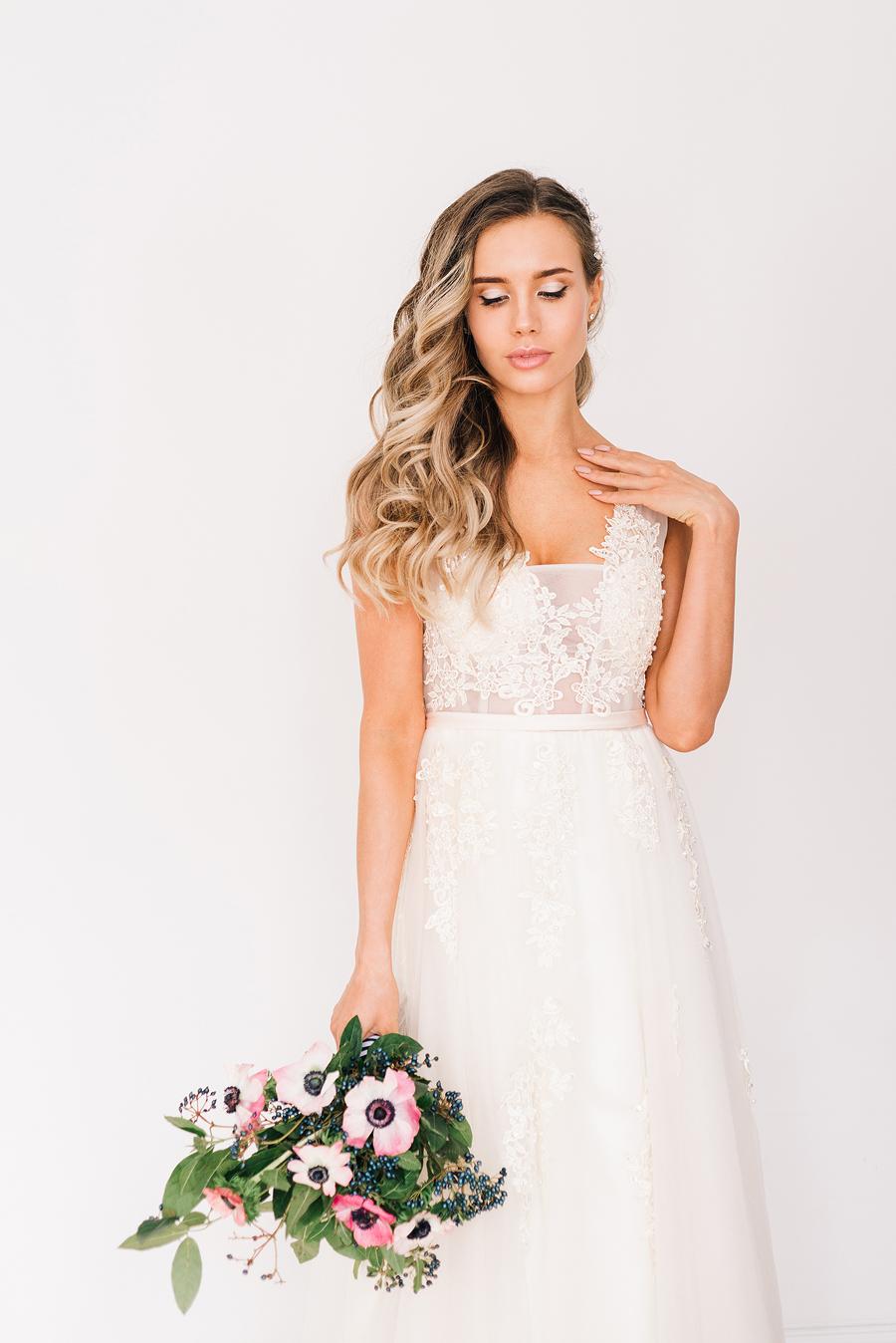 нежная фотосессия невесты