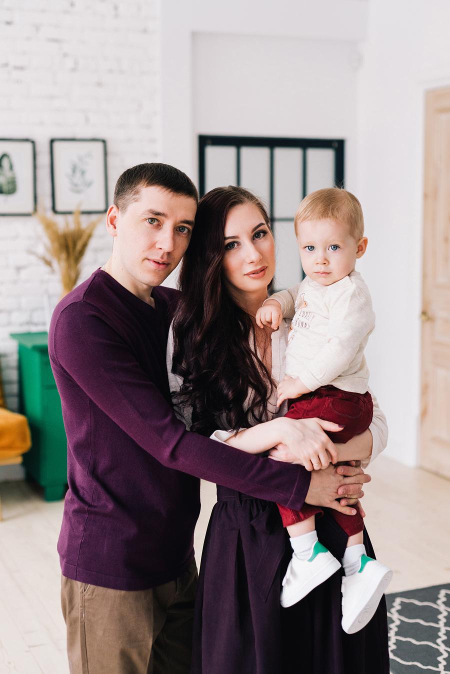 семейный портрет примеры