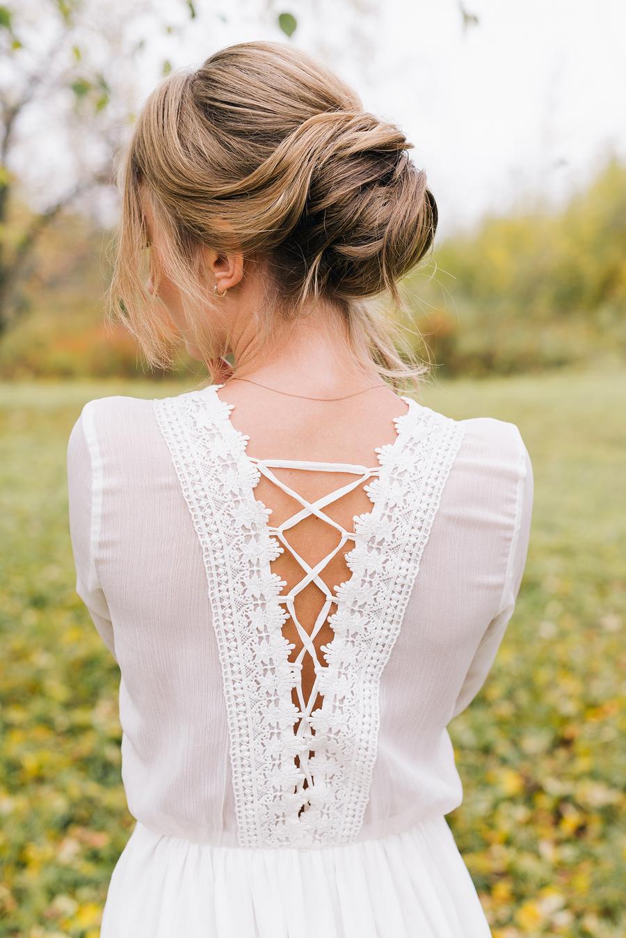 нежное платье для невесты