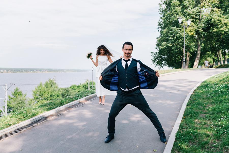 Идея для свадебной съёмки