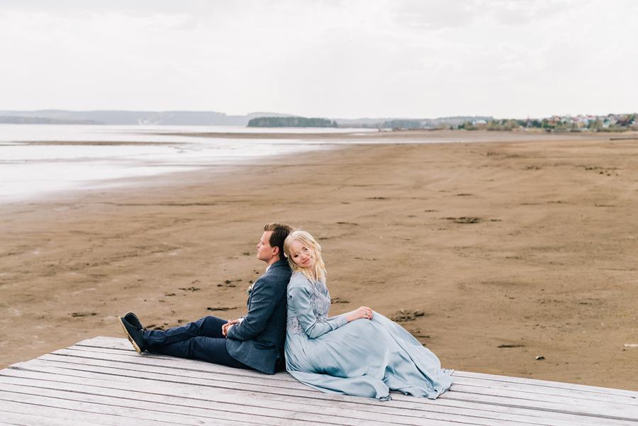 Идеи для свадебной фотосессии на пирсе
