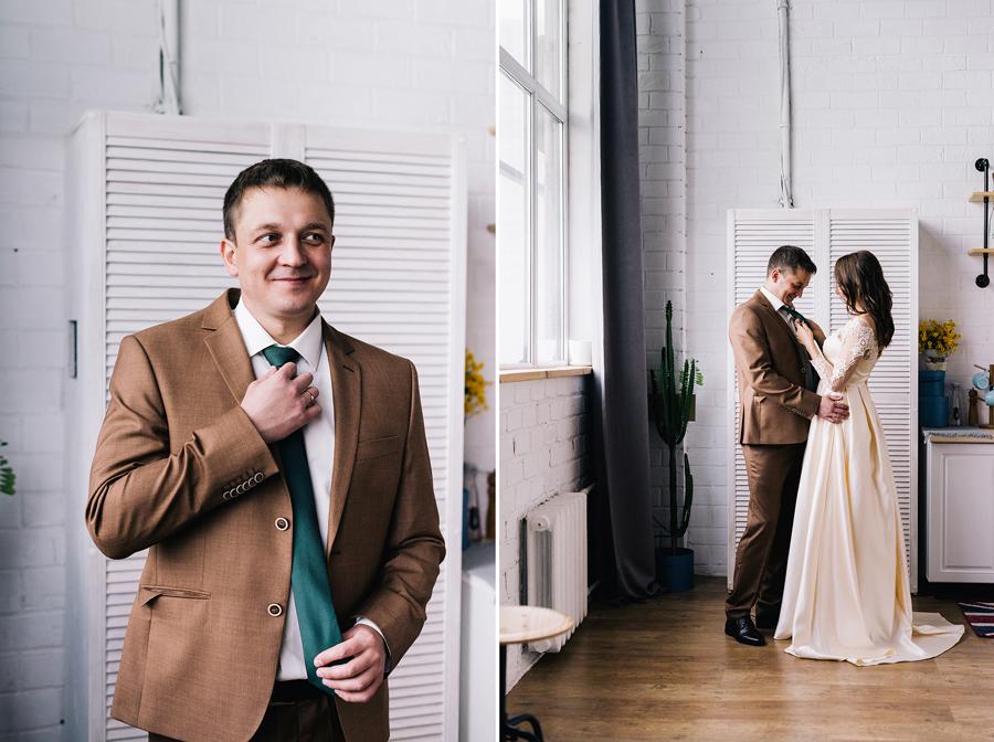 Свадебные сборы вместе