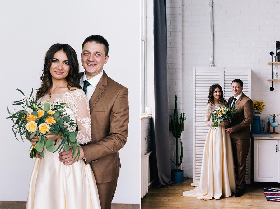 Свадебный сборы вдвоем