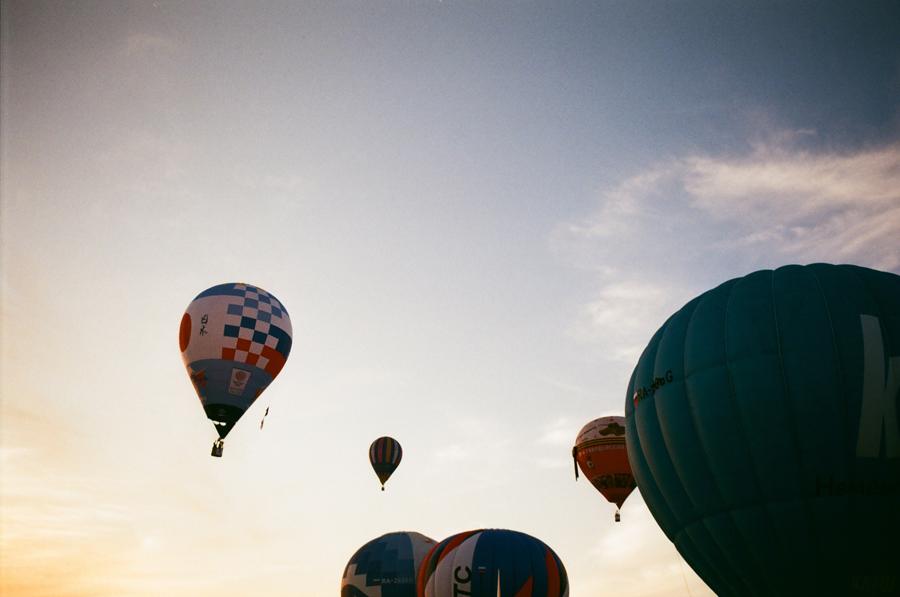 Кунгур. Воздушные шары