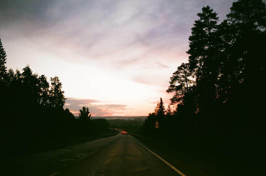 Дорога из Кунгура