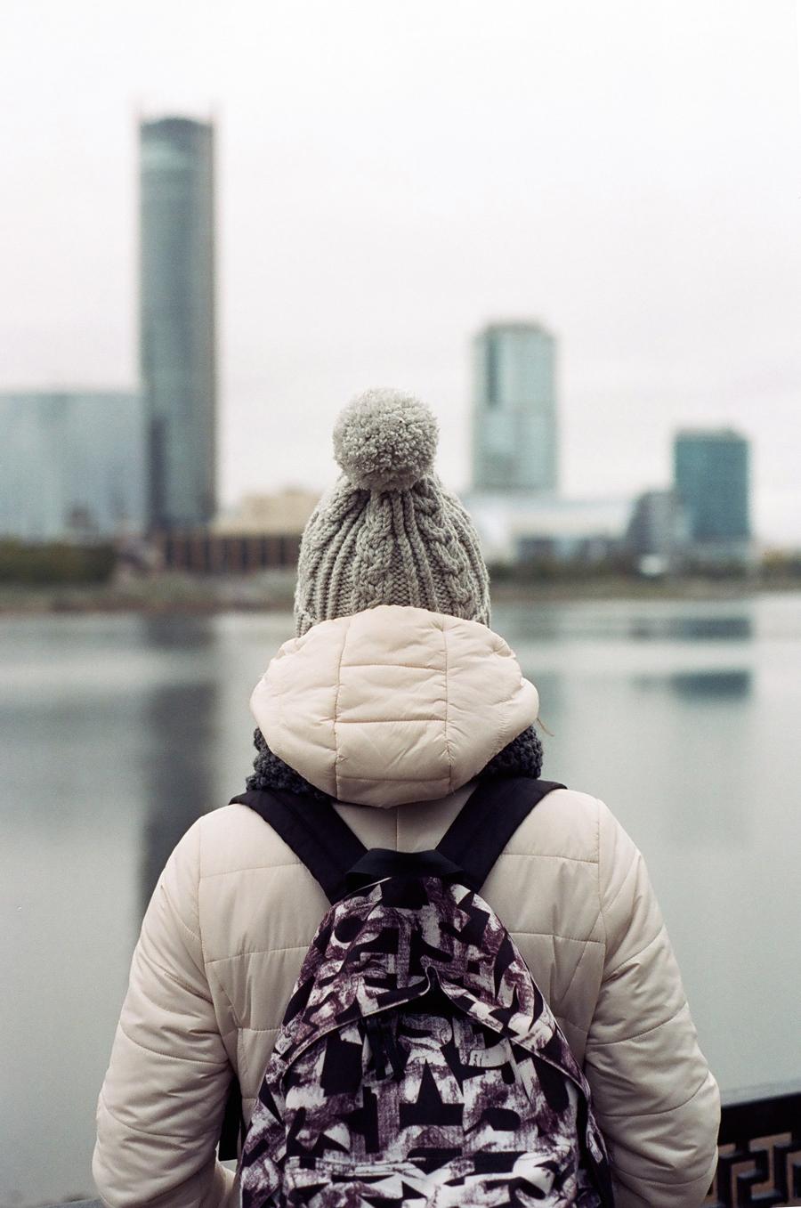 Вид на высотки Екатеринбурга