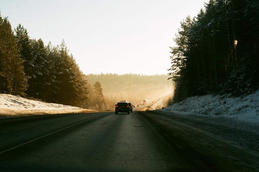 Дорога на Белую гору